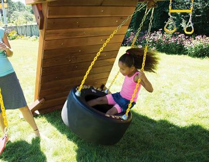 Picture of Castle 360 Race Car Tire Swing