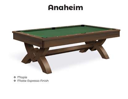 Picture of NEW Olhausen Anaheim Pool Table