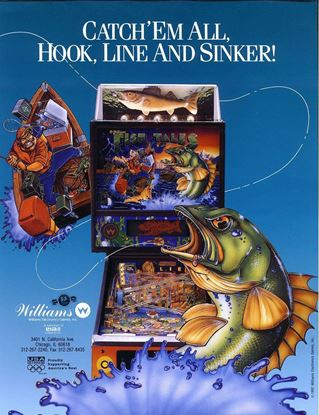 Picture of Fish Tales Pinball Machine by Williams