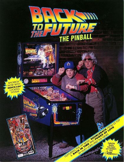 Back to the Future Pinball Machine by Data East | Ace Game