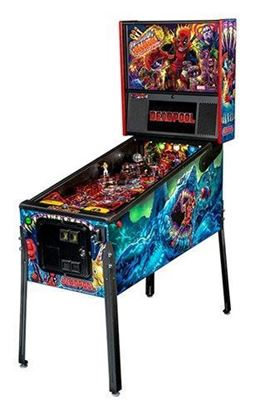 Picture of Stern Deadpool Premium Pinball