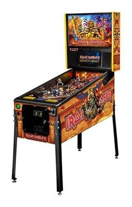 Picture of Stern Iron Maiden Premium Pinball