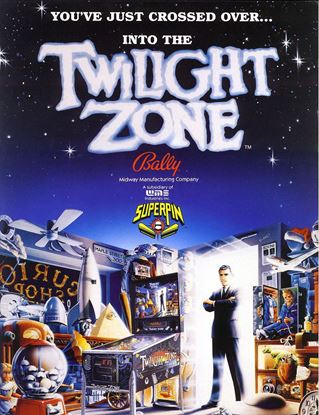 Picture of Twilight Zone Pinball Machine By Bally