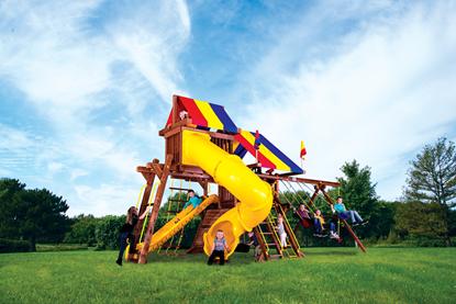 Picture of Sunshine Castle Pkg V  with 270° Spiral Slide 13H