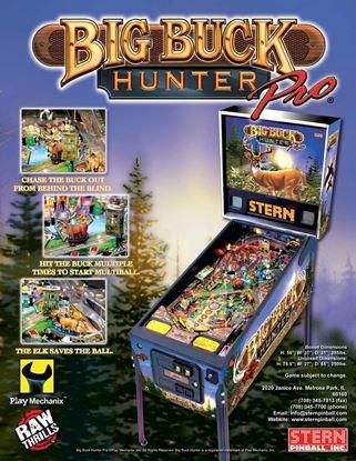 Picture of Big Buck Hunter Pro  Pinball Machine By Stern