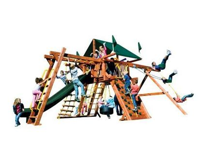 Picture of 21E Monster Castle Pkg III Forest Green