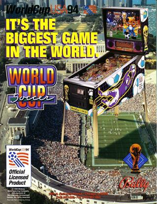 Picture of World Cup Soccer Pinball Machine  By Williams